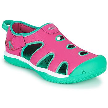 Pantofi Fete Sandale sport Keen STINGRAY Violet / Albastru