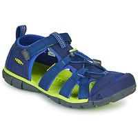 Pantofi Copii Sandale sport Keen SEACAMP II CNX Albastru / Verde