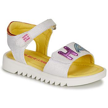 Pantofi Fete Sandale  Agatha Ruiz de la Prada SMILES Alb