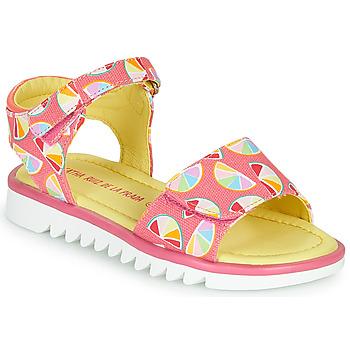 Pantofi Fete Sandale  Agatha Ruiz de la Prada SMILES Roz /  multicolor