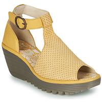 Pantofi Femei Sandale  Fly London YALLS Galben