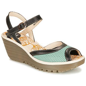 Pantofi Femei Sandale  Fly London YANS Albastru / Negru