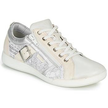 Pantofi Femei Pantofi sport Casual Pataugas PAULINE/S Alb / Argintiu