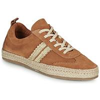 Pantofi Femei Espadrile Pataugas PIA Coniac / Auriu
