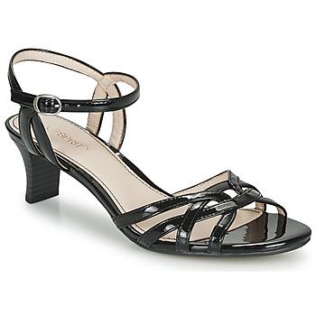 Pantofi Femei Sandale  Esprit BIRKIN SANDAL Negru