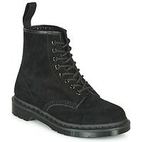 Pantofi Ghete Dr Martens 1460 MONO SOFT BUCK Negru