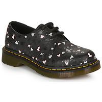Pantofi Femei Pantofi Derby Dr Martens 1461 HEARTS Negru
