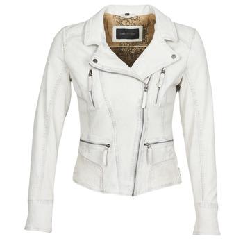 Îmbracaminte Femei Jachete din piele și material sintetic Oakwood CAMERA Alb