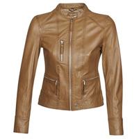 Îmbracaminte Femei Jachete din piele și material sintetic Oakwood EACH Coniac