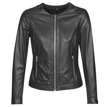 Îmbracaminte Femei Jachete din piele și material sintetic Oakwood PLEASE Negru