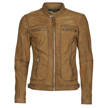 Îmbracaminte Bărbați Jachete din piele și material sintetic Oakwood PLEASE Coniac