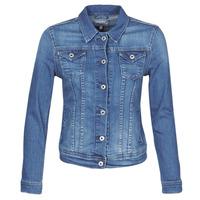 Îmbracaminte Femei Jachete Denim Pepe jeans THRIFT Albastru / Medium / Hb6