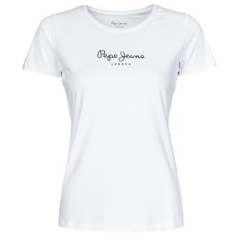 Îmbracaminte Femei Tricouri mânecă scurtă Pepe jeans NEW VIRGINIA Alb