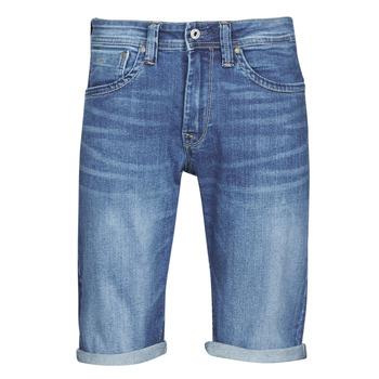Îmbracaminte Bărbați Pantaloni scurti și Bermuda Pepe jeans CASH Albastru / Medium