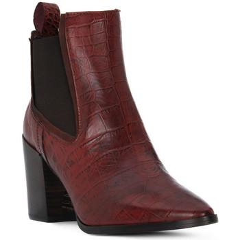 Pantofi Femei Botine Priv Lab TRONCHETTO Marrone