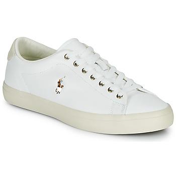 Pantofi Bărbați Pantofi sport Casual Polo Ralph Lauren LONGWOOD-SNEAKERS-VULC Alb