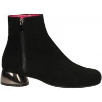 Pantofi Femei Botine Le Babe CAMOSCIO nero
