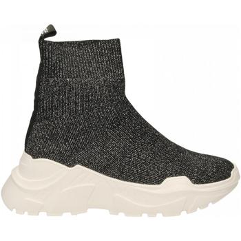 Pantofi Femei Pantofi sport stil gheata Emanuélle Vee SNEAKER CALZINO black