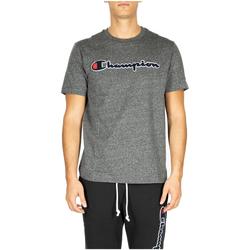 Îmbracaminte Bărbați Tricouri & Tricouri Polo Champion Crewneck T-Shirt em516-grdkm-grigio-scuro