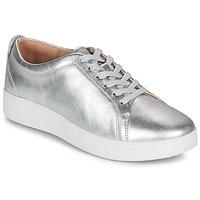 Pantofi Femei Pantofi sport Casual FitFlop RALLY SNEAKERS Argintiu