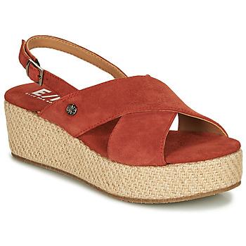 Pantofi Femei Sandale  Elue par nous GESIEL Roșu