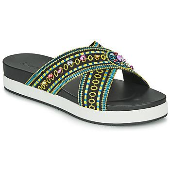 Pantofi Femei Papuci de vară Desigual SHOES_NILO_BEADS Negru