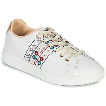 Pantofi Femei Pantofi sport Casual Desigual COSMIC NEW EXOTIC Alb