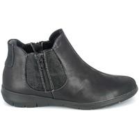 Pantofi Femei Ghete Boissy Boots Noir texturé Negru