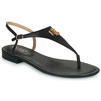 Pantofi Femei Sandale  Lauren Ralph Lauren ELLINGTON SANDALS CASUAL Negru