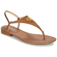 Pantofi Femei Sandale  Lauren Ralph Lauren ELLINGTON SANDALS CASUAL Coniac