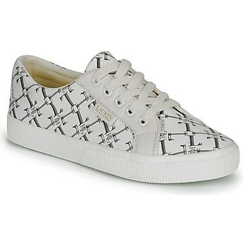 Pantofi Femei Pantofi sport Casual Lauren Ralph Lauren JAYCEE NE SNEAKERS VULC Crem