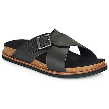 Pantofi Bărbați Papuci de vară Timberland AMALFI VIBES CROSS SLIDE Negru