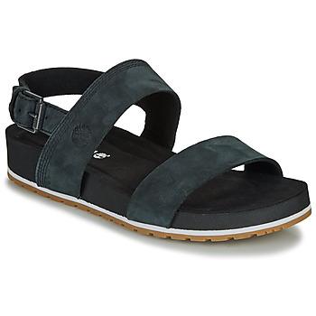 Pantofi Femei Sandale  Timberland MALIBU WAVES 2BAND SANDAL Negru