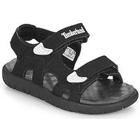 Pantofi Copii Sandale  Timberland PERKINS ROW 2-STRAP Negru