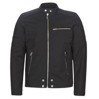 Îmbracaminte Bărbați Jachete din piele și material sintetic Diesel J-GLORY Negru