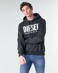 Îmbracaminte Bărbați Hanorace  Diesel GIR-HOOD-DIVISION Negru