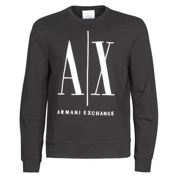 Îmbracaminte Bărbați Hanorace  Armani Exchange HELIX Negru