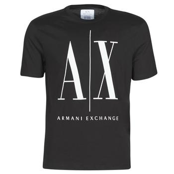 Îmbracaminte Bărbați Tricouri mânecă scurtă Armani Exchange HULO Negru