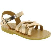 Pantofi Fete Sandale  Attica Sandals HEBE CALF GOLD PINK Oro rosa