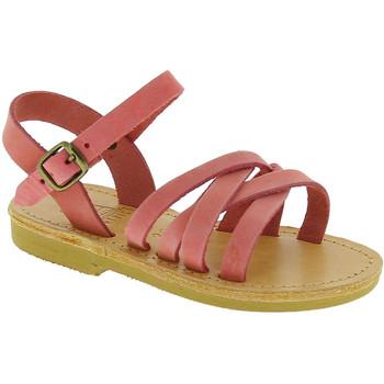 Pantofi Fete Sandale  Attica Sandals HEBE NUBUK PINK Rosa chiaro