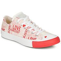 Pantofi Femei Pantofi sport Casual Converse CHUCK TAYLOR ALL STAR - OX White / Red