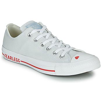 Pantofi Femei Pantofi sport Casual Converse CHUCK TAYLOR ALL STAR LOVE CANVAS - OX White / Roșu