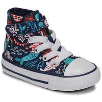 Pantofi Fete Pantofi sport stil gheata Converse CHUCK TAYLOR ALL STAR 1V UNDERWATER PARTY Albastru