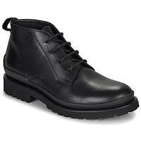 Pantofi Bărbați Ghete HUGO SCOUT DESB IT Negru