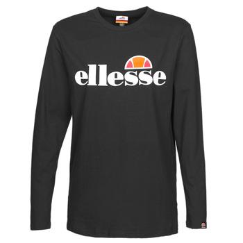 Îmbracaminte Femei Tricouri cu mânecă lungă  Ellesse GRAZIE Negru