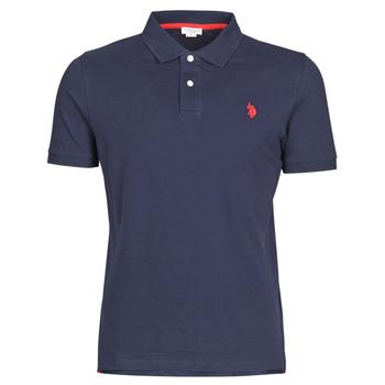Îmbracaminte Bărbați Tricou Polo mânecă scurtă U.S Polo Assn. INSTITUTIONAL POLO Albastru