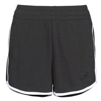Îmbracaminte Femei Pantaloni scurti și Bermuda Converse TWISTED VARSITY SHORT Negru
