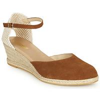 Pantofi Femei Sandale  So Size JITRON Camel