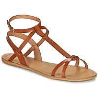 Pantofi Femei Sandale  So Size BEALO Camel