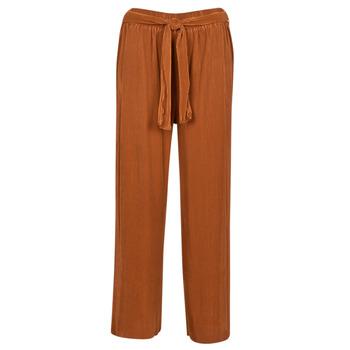 Îmbracaminte Femei Pantaloni fluizi și Pantaloni harem Moony Mood MERONAR Maro ruginiu